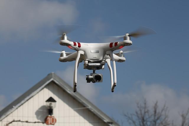 cazar un dron