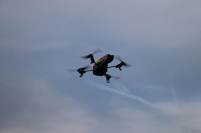 envíos con dron de paquetes