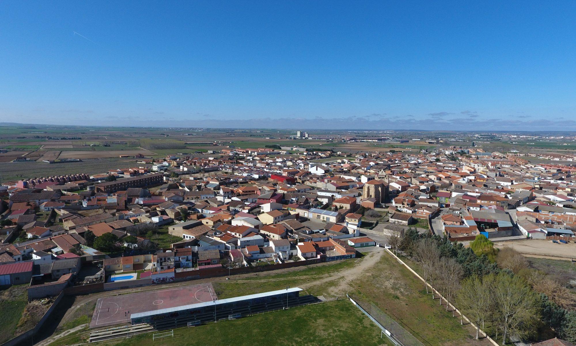 Villaralbo a vista de dron