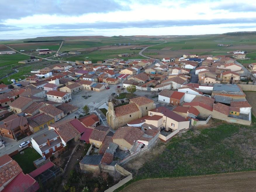 Vista aérea de Algodre