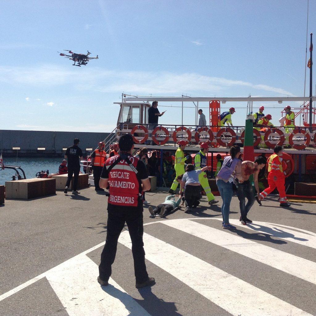 Dron emergencias y vigilancia